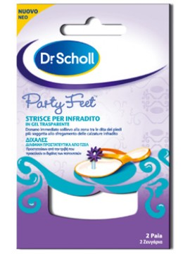 Party feet strisce infradito