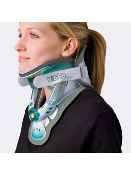 Vista TX Collare cervicale bivalve regolabile con appoggio sternale